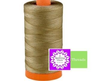 50wt Aurifil Sandstone 100% Cotton Mako SPOOL Thread Aurifil #MK50-2370