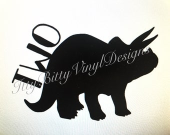 Dino Two SVG/DXF/PNG Instant Downloadable File