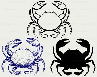 Crab svg,crab clipart,crab svg,crab silhouette,crab cricut,crab