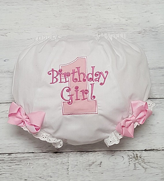 1st 2nd 3rd 4th Birthday Personalized Diaper Cover Bloomers