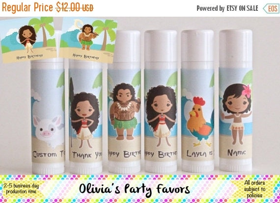 Disney Moana Lip Balm for Kids