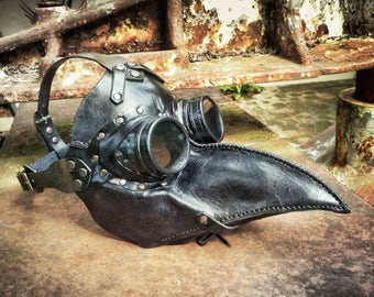 Dr Crow Plague Doctor Steampunk mask