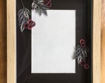 Quilled Mat Frame