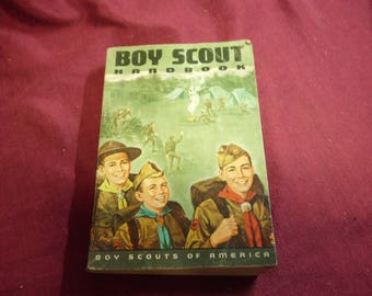 1968 Boy Scout Handbook SC 448 Pages Good Preowned Condition Previous Owner's Name on Inside Page