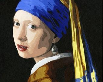 Vermeer Art Print