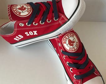 Boston red sox tennis shoes