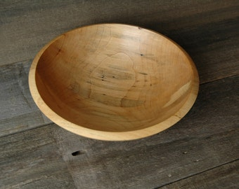 Spalted Sugar Maple Bowl