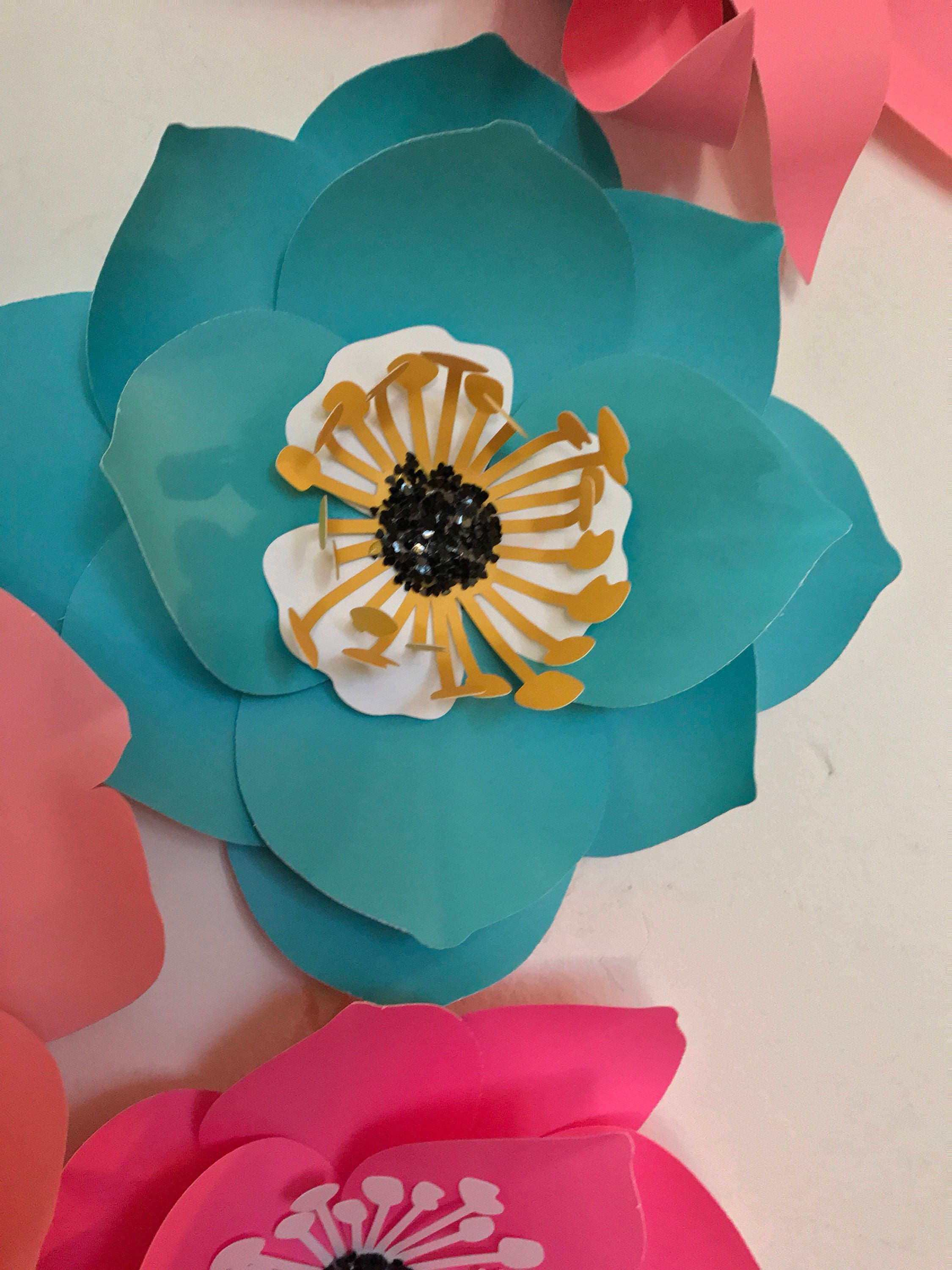 Robin egg blue paper flowers wall decor baby girl nursery bedroom gallery photo gallery photo gallery photo gallery photo gallery photo amipublicfo Choice Image