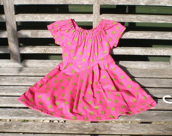SALE   ---  Girls cotton  dress