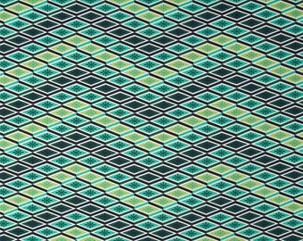 Tula Pink; Eden; Labyrinth in Sprout; 1/2 yard cotton woven fabric