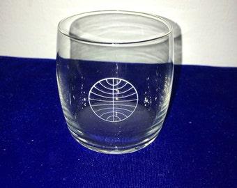 Vintage Pan Am Beverage Juice Glass