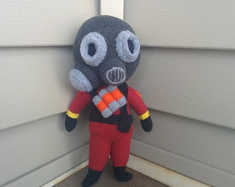 Pocket Pyro - A TF2 Plushie