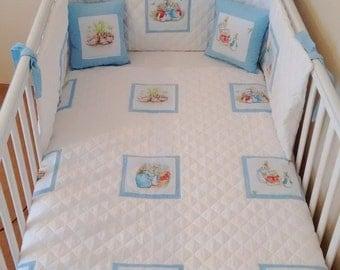 Baby boys Beatrix potter peter rabbit bedding