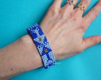 Handmade loom bracelet
