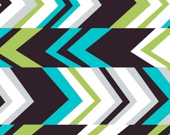 Misciano Multi Geo Chevron Fabric by Fabric Central, Fabric by the Yard