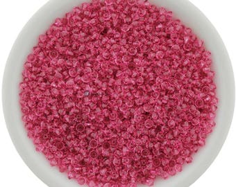 24 Rose (2.5mm) Swarovski Crystal 5328 XILION Bicones