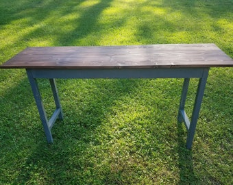 Farmhouse Entryway Table / Sofa Table / Foyer Table / TV Stand