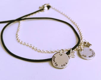Tag bracelet • discreet message •