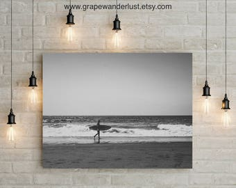 Ocean Waves Wall Art, Seaside Art, Beach photography wall art, Surfers poster print, Printable art, Modern minimalist, Beach Wall Art