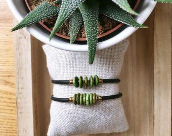 Jade Bracelet, Brazilian Jade, Boho Bracelet, Gemstone Bracelet, Adjustable Bracelet, Stacking Bracelet, Jade Stone, gemstone Jewelry