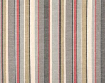 Four curtains in Romo Sylvan Pomelo