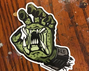 If it screams... vinyl sticker