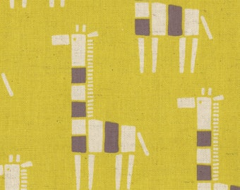 Giraffe Canvas By Kokka Fabrics Japan