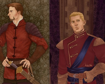 Cullen and Alistair Royal Prints