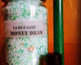 Money Draw Set - Money Spell - Money Manifistation - Money Kit - Money Gift Set - Abundance Spell - Money Bath Set - Bath Set - Money Oil