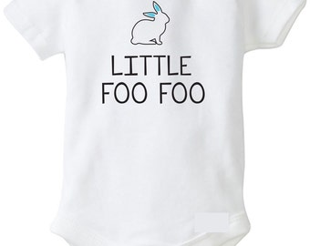 Little Foo Foo Easter Outfit for Baby Boy, Boys First Easter Onesie