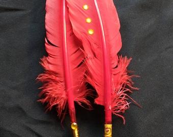30 cm Gryffindor Red Turkey Quills