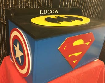 Super Hero   Toy Boxes   Toy Chests   Girls Toy Boxes   Childrens Furniture