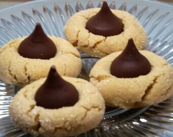 Peanut Butter Blossoms - Homemade, 1 Dozen