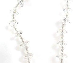 "16"" Vintage Crystal Necklace"