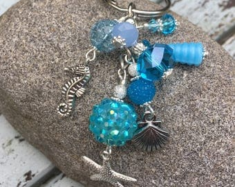 Seashell Keyring/Bag Charm