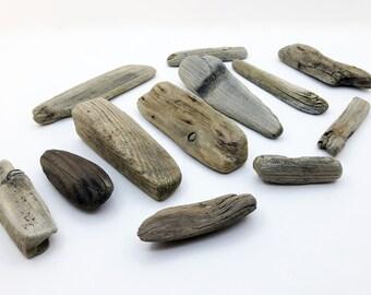 Lot of 12 Baltic Driftwood piece set, diy driftwood set, Baltic sea driftwood, Driftwood stick craft supply, Rustic wedding driftwood decor