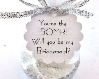 Will You Be My Bridesmaid - Bridesmaid Proposal - Will You Be My Maid of Honor - Maid of Honor Proposal - Will You Be My Matron of Honor