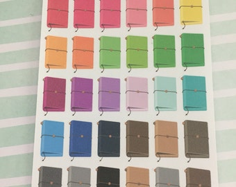 Mini Traveler's Notebook Stickers