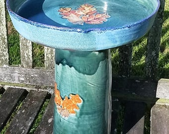 Two piece Bird Baths