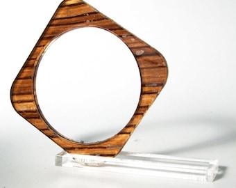 Bracelet square wood