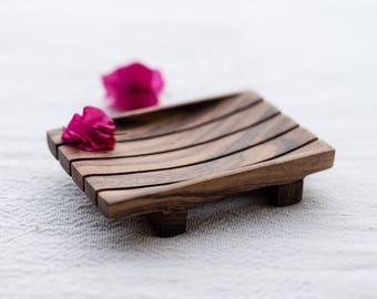 Handmade Wooden Soap Dish   Wooden Soap Tray   Soap Holder   Soap Saver   Soap Deck   Vegan Soap Tray    Natural Bathroom Decor   Soap Favor