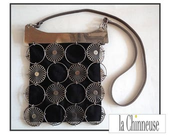 VINTAGE BAG 60' 60s purse/bag / small bag metal 1960.