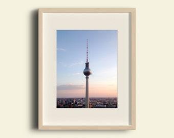 "Berlin Photography, ""Higher Than the Sun"" Print Wall Art Decor Gift Apartment Art Travel"