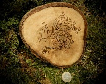 Pyrography How to train your Dragon