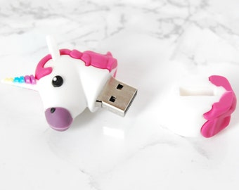 Unicorn USB 2.0 flash drive 8Go - Unicorn Flash Drive - Unicorns Flash Drive - Unicorn USB Key - Unicorn Flash Drives - Unicorn Stationery