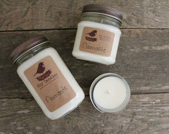 SALE - 50% off - 8 oz Soy Candle