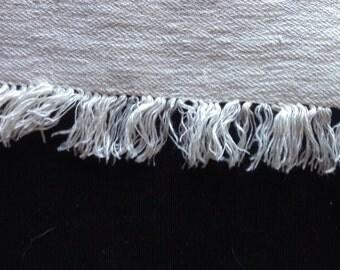 Handwoven Homespun Linen Tablecloth