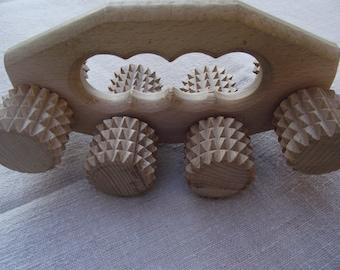 SALE! 10 % off Massage For Body Massager For Back Wood Massager Roller Relax Massager Reflexology Tool Health Massage Relax Massage gift