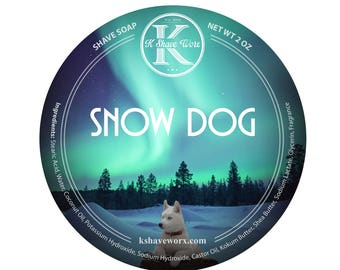 Snow Dog Shave Soap