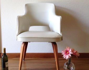Vintage Thonet Chair, Mid Century Modern Chair, Danish Modern